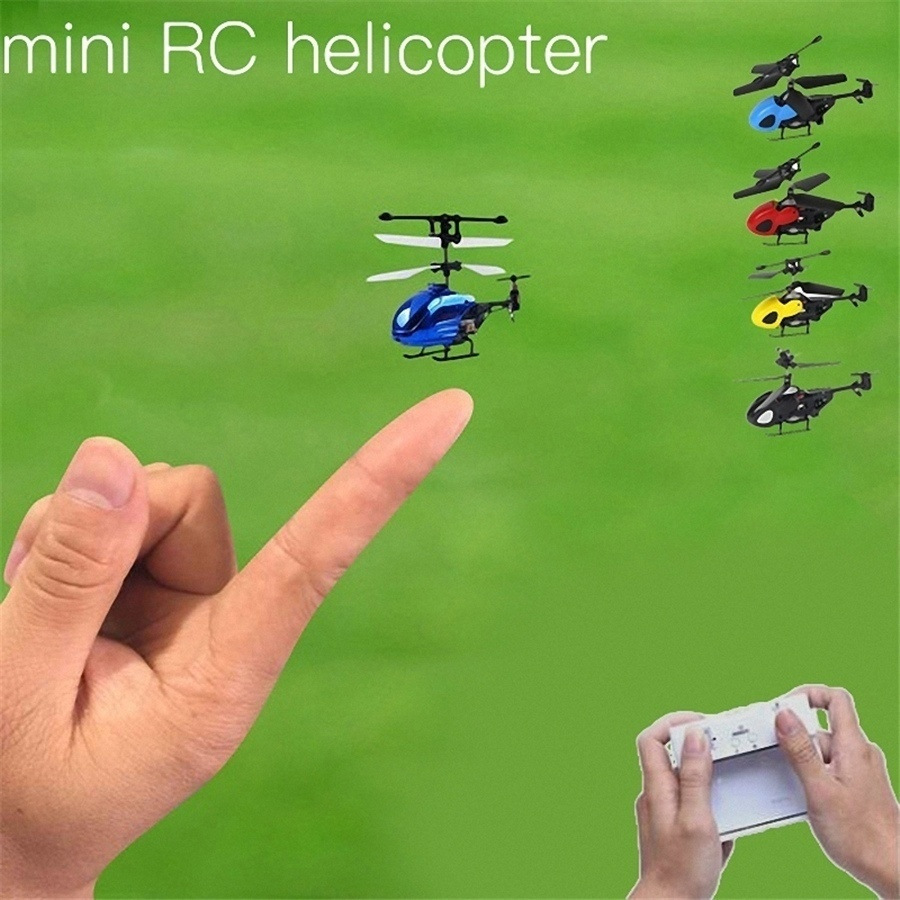 Helicopter RC Drone-Toys UAV Radio Remote-Control-Aircraft Pocket Mini Children for Xmas/gift title=