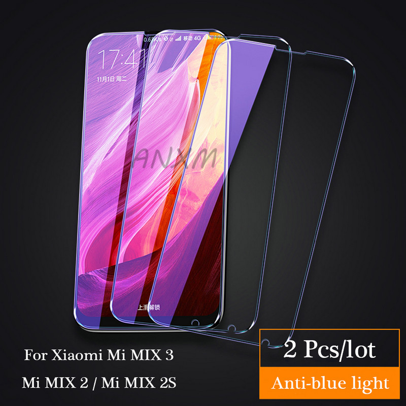 2Pcs/lot Full Cover Tempered Glass For Xiaomi Mi MIX 2 2s 3 MIX3 MIX2s MIX2 Screen Protector For Xiaomi Mi MIX 3 2 2s Glass Film