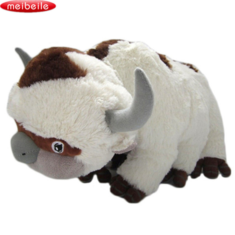 50CM The Last Airbender Ressurs Appa Avatar Fyllt Dyr Plysj Dukke Kok OX Toy Gave Kawaii Plysj Leker Unicorn Pillow Cattle
