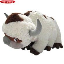 50 см последний Airbender ресурсов Аппа Аватар мягкие животные плюшевые куклы корова, бык игрушка в подарок Kawaii Плюшевые игрушечные лошадки Единорог подушк