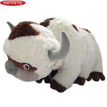 50CM The Last Airbender Resource Appa Avatar Stuffed Animals Plush Doll Cow OX Toy Gift Kawaii Plush Toys Unicorn Pillow Cattle(China)