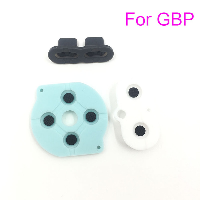 For GBP Replacement Conductive Buttons A-B, D-Pad For Nintendo Gameboy Pocket
