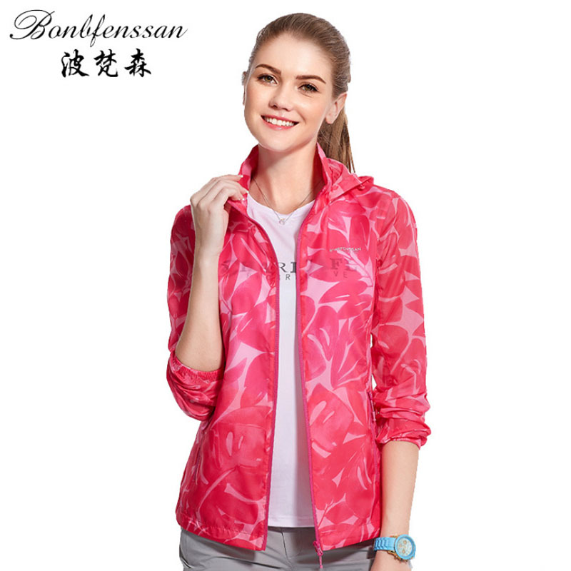 New Women Quick-drying Sun Protection Clothing UV Protection Waterproof Breathable Outdoor Clothing Camping Hiking Jacket 6735B 2018 lovers skin sunscreen clothing men women quick fast dry hiking jackets windproof sun uv protection outdoor sport rain coats