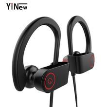 купить 3D Stereo Bluetooth Earphone Supper Bass Wireless Neckband Sport Magnetic Double Battery Bluetooth Headphone Headset+Mic Music онлайн