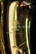 2017 Copia YAS-275 Saxofon Alto Oro Laca Saxofón Eb Sax Boquilla Profesional saxofón Instrumentos de metal Libre de UPS/DHL