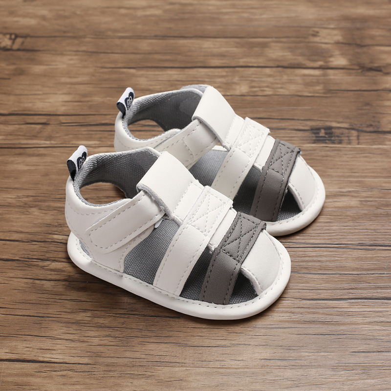 New Baby Sandals Boys And Girls Hollow Sandals Non-slip Soft Bottom Walking Shoes  Baby Shoes Summer Sandals For Baby Girl