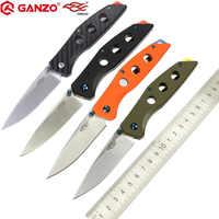 58-60HRC Ganzo F7621 440C G10 oder Carbon Griff klappmesser Überleben Camping werkzeug Taschenmesser taktische edc outdoor-tool
