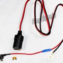 1 м 1.5мм2 Автомобильная сигарета прикуриватель DC12V расширение микро предохранитель кран держатель свинец