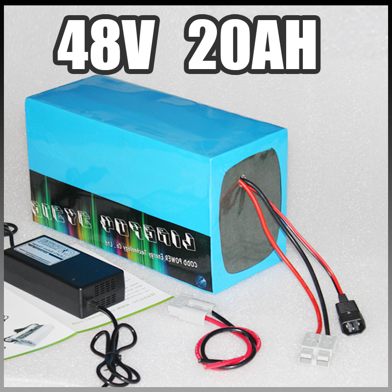 electric bike battery 48v 20ah, 1000W Samsung Electric Bicycle lithium Battery with BMS Charger 48v li-ion scooter battery pack free shipping 48v 15ah battery pack lithium ion motor bike electric 48v scooters with 30a bms 2a charger