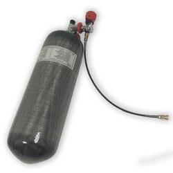 ACECARE الغاز بندقية سلاح الألوان خزان الغوص pcp سلاح الجو كوندور الكربون الهواء خزان 30mpa CE 9L ل تحت الماء carabina AC109101