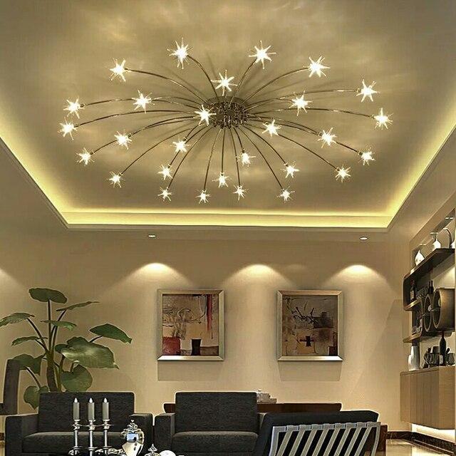 Lustres de cristal da l mpada europeia sala de estar for Lustres para sala de estar