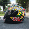 2017 Motorcycle Helmet MALUSHUN Engine Man All Cover Roadster Full Face Helmet Summer Individuality Autobike Safety
