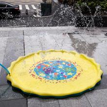 39 Inches Summer Play Water Games Toy Lawn Inflatable Sprinkler Cushionfor Kids Baby
