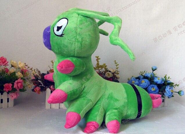 Приключения Дигимонов Ichijouzi Ken Warmmon плюшевый ручной работы игрушка косплей реквизит 45 см