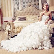 Las Mujeres Vestido Largo De novia de Mariage Vestido De Noiva Vestidos de Novia Barato Ropa de China Barato ropa de china Robe De Vestidos de Fiesta 2