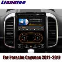 For Porsche Cayenne S V6 92A 2011~2017 MACAN NAVI 2G RAM Liandlee Car Multimedia GPS WIFI Audio CarPlay Radio Navigation MAP