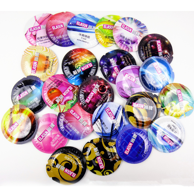 Ultra-thin Condoms for Men Lubricated Male Condom 8 Kinds of Taste
