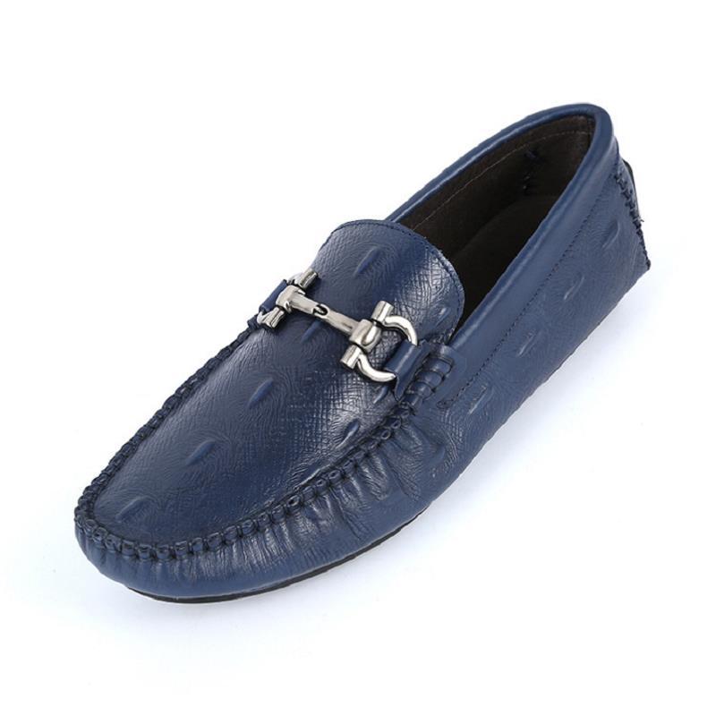 Condução Dedo Redondo Calçados Pé Sólidos Moda Sapatos Preguiçosos Homens De Blue Calzado Homem Casuais on Confortável Do Mycoron Hombre Top Novo Marca Slip qYPwHg6
