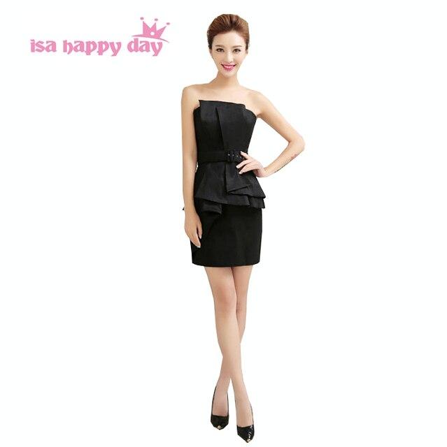 a475d7b8bf77 Delle donne sexy semi senza spalline formale nero sexy di estate del  vestito da promenade abiti