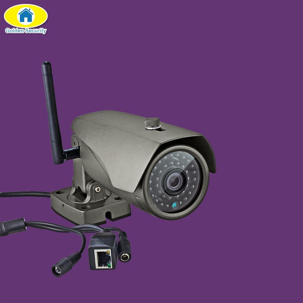 Фотография Golden Security 1080P HD Outdoor WiFi IP Camera 2.0MP Megapixel Waterproof Wireless HD IP Camera WIFI Security Camera