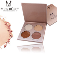 2 Styles 8 Farben Highlighter Bronzer Pallete Contouring Makeup Shimmer Stick Textmarker Pulver Erhellen Haut Face Bronzer