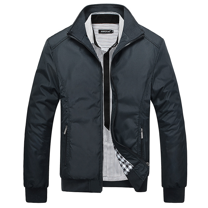 New Jacket Men Fashion Casual Loose Mens Jacket Sportswear Outdoors Bomber Top Coat Mens Jackets And Coats Plus Size M 5xl