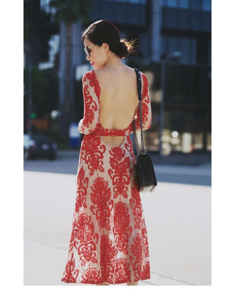 Us 850 Women Sexy Embroidery Lace Maxi Dress Elegance Exposed Back Party Dress Evening Date Dress In Dresses From Womens Clothing On Aliexpress