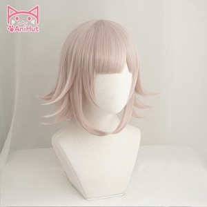 Image 2 - 【AniHut】NANAMI CHIAKI Wig Super Danganronpa Cosplay Wig Anime Cosplay Hair Synthetic Heat Resistant Women Hair
