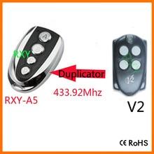 V2 TRC4 remote control V2 garage door remotes 433.92MHz