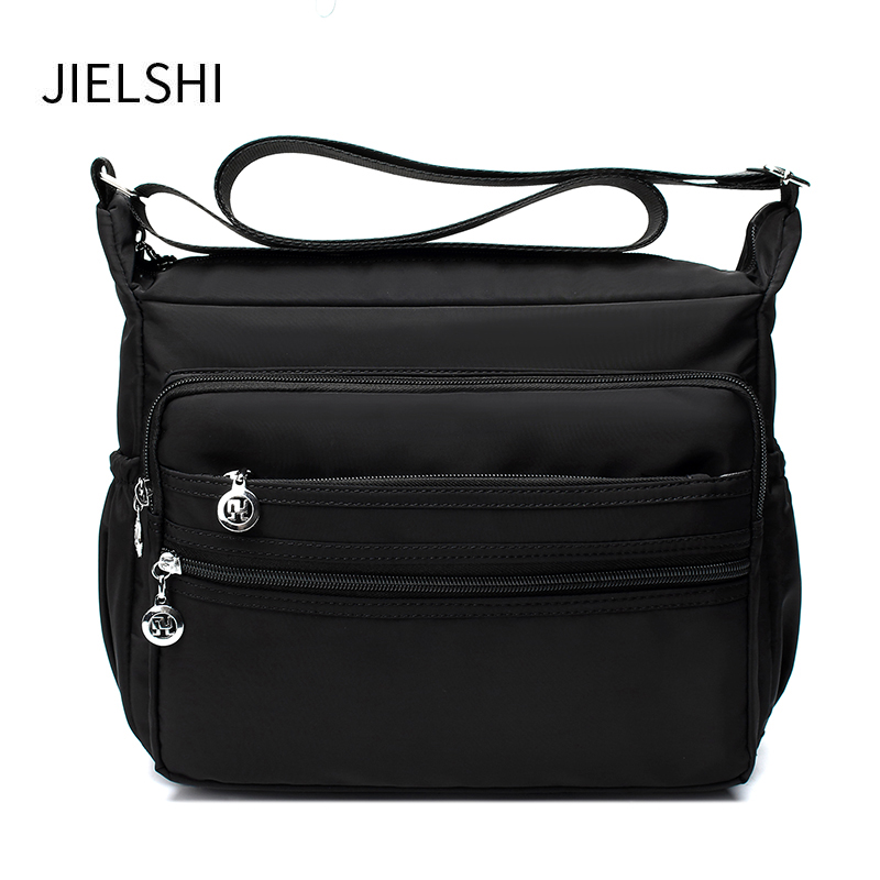 Solid Women's Soft Messenger Bags Ladies Nylon Handbag Daily And Travel Casual Shoulder Bag Female Large Capacity Crossbody Bag women s messenger bags ladies nylon handbag travel casual bag shoulder female high quality large capacity crossbody bags