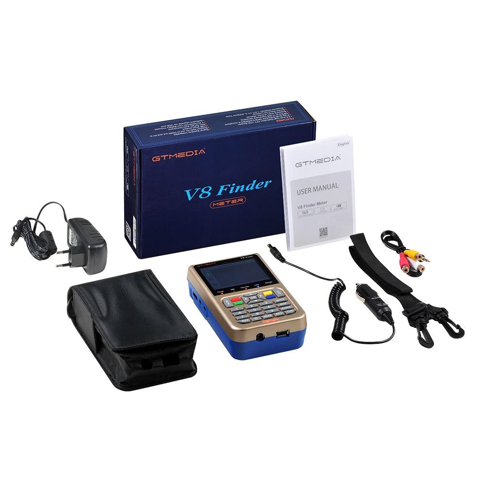 Image 5 - V8 Finder Meter satfinder DVB S2/X2S HD Satellite Finder MPEG 4 DVB S2 Satellite Meter Full 1080P Update From GTmedia V8 Finder-in Satellite TV Receiver from Consumer Electronics