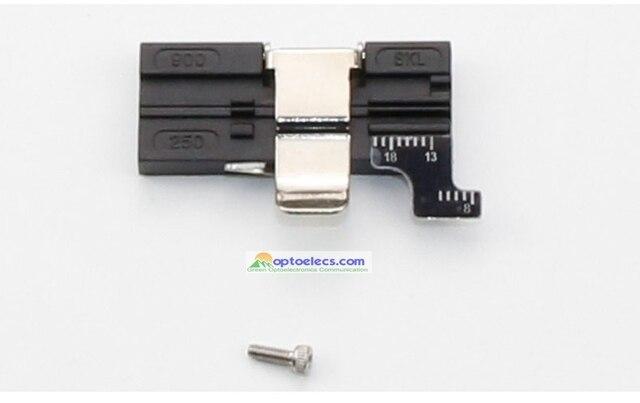 Livraison gratuite remplacé 2 en 1 AD 30A support de fibres pour CT 30 CT 30A couperet montage FTTH support de fibres pour 0.25mm 0.9MM