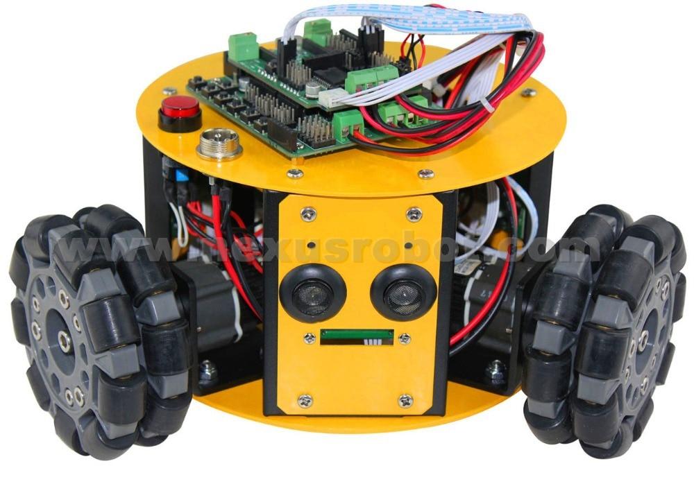 3WD 100mm Omni Wheels Arduino Kit - Escuela y materiales educativos - foto 1