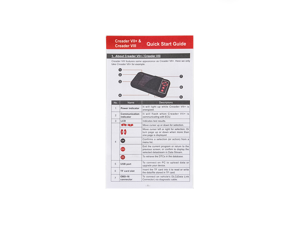 launch obd2 code reader scanner creader vii+ (2)