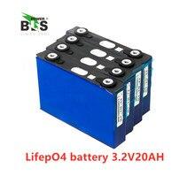 4 шт. lifepo4 3,2 В 20ah 200A Высокая разрядка тока 20ah 3,2 v lifepo4 батарея для электровелосипеда мотор Ремонтный комплект батарей