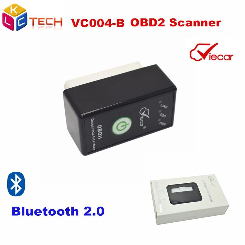 Prix pour Viecar VC004-B ELM327 Bluetooth Auto Outil De Diagnostic ELM 327 Commutateur obd2 Voiture Code Scanner OBD 2 OBDII Scanner Outil