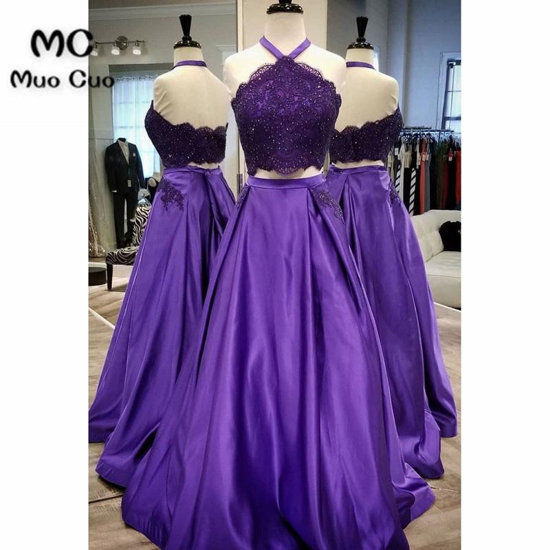 Compra 2 piece prom dress with train y disfruta del envío gratuito ...
