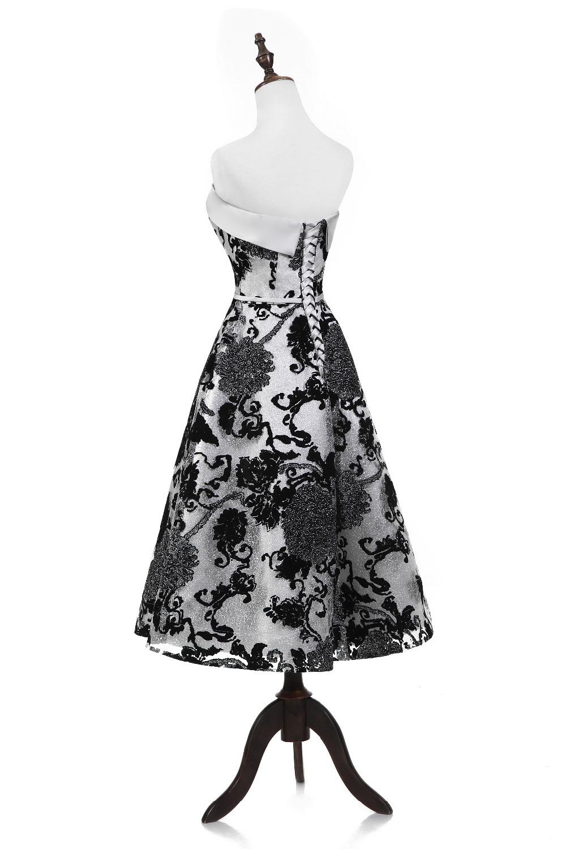 printed vestido de festa curto