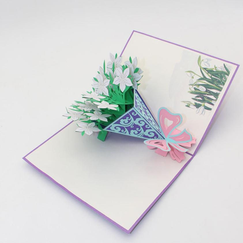 Online buy wholesale happy valentines day card from china happy 3d pop up cards valentine lover happy birthday anniversary greeting cards levert dropship 2jul6china m4hsunfo