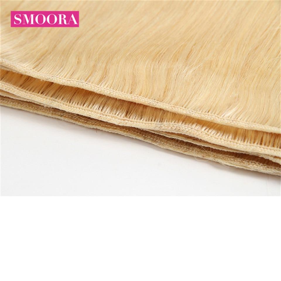 Straight Hair  Bundles 100%  Bundle 1pc 613 Blonde  Hair s 3 or 4 Bundles Can Buy Smoora 5