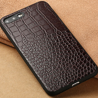 Genuine Leather For Apple IPhone 6 6s 7 8 Plus Case Back Case Fashion Mobile Phone