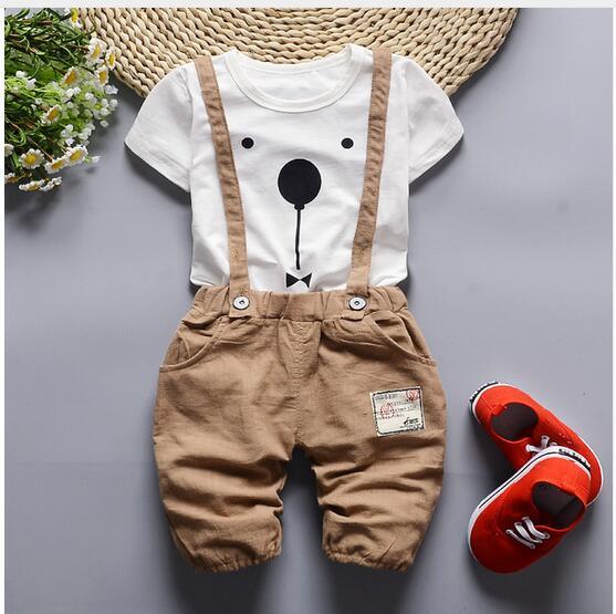 Children-Set Baby-Set Girls Cotton Summer HOT 2pcs Track-Suit Short-Sleeved