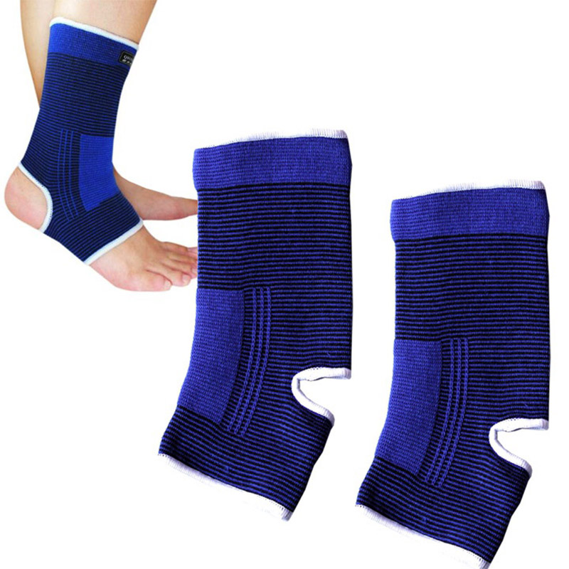 1 Pair Ankle Support Protection Gym Running Protection Foot Bandage Elastic Ankle Brace Guard Sport Fitness Support
