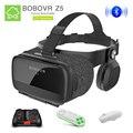 BOBOVR Bluetooth BOBOVR Z5 Óculos de Realidade Virtual Óculos Google Papelão VR VR Óculos Com Fone De Ouvido para smartphone Jogo/filme