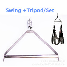 Adult Sex Swing and Tripod Kit Erotic Toys Sex Products Luxury Love Swing Chairs,Fetish Sex Toys Swing  Sex Furniture
