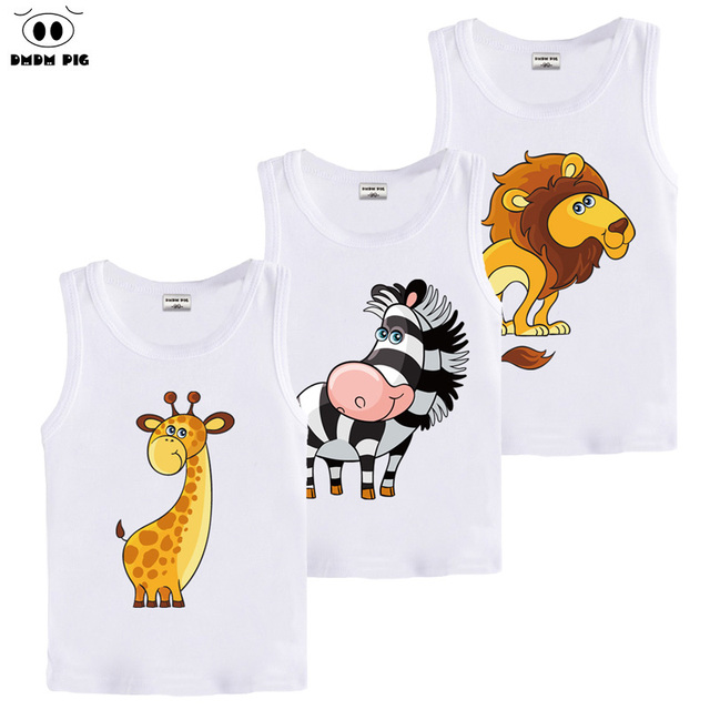 DMDM PIG Summer Kids Children's Clothing 3D T Shirt Baby Boy Girl Clothes T-Shirt Teens T-Shirts For Boys Girls 5 years Tshirt