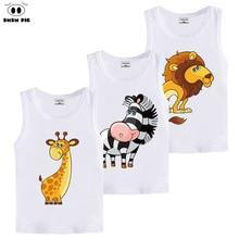 DMDM PIG Summer Kids Children's Clothing 3D T Shirt Baby Boy Girl Clothes T-Shirt Teens T-Shirts For Boys Girls 8 years Tshirt