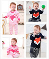 2016 New winter children suit boys and girls baby children cotton pullover sweater Baby Suits character