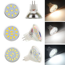 LED Bulb MR11 AC/DC12V 24V GU4 120LM 240LM LED Bulb 9LED 12LED 15LED 5730 SMD Warm/Cold/Neutral White Lamp Replace Halogen Light