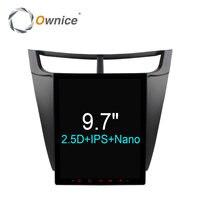 Ownice 9.7 Vertical Android 6.0 Car GPS Radio Player for Chevrolet sail 2015 2016 2G Ram Auto Radio Multimedia GPS NAVI CarPlay